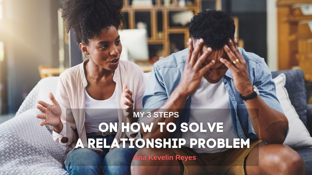 how to solve a relationship problem!